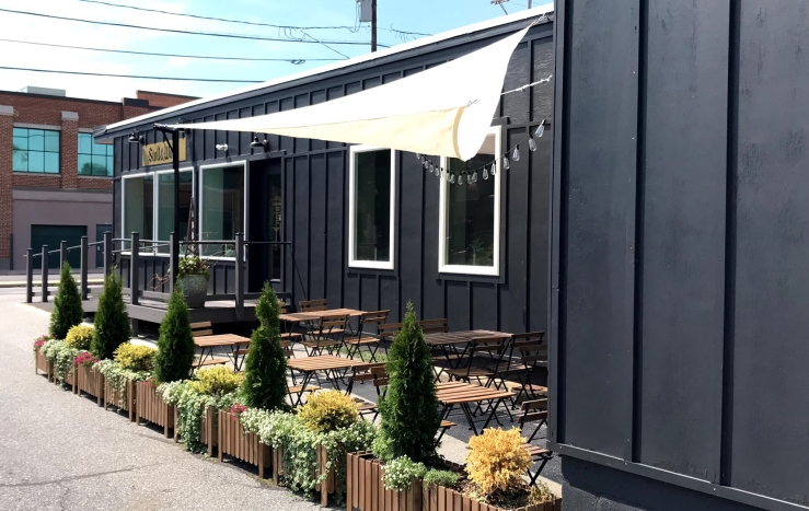 Outdoor seating now open at Stoll & Wolfe Distillery in Lititz, PA