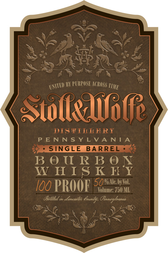 Stoll & Wolfe Single Barrel Bourbon Whiskey