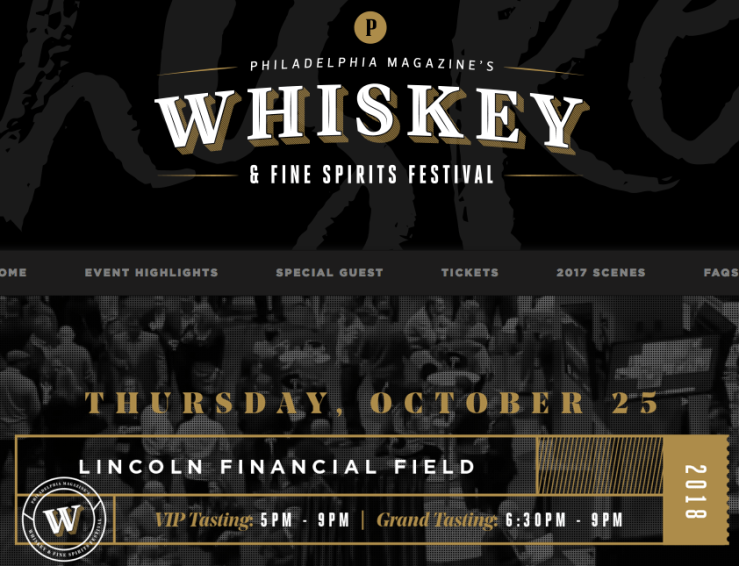 Philadelphia Magazine Whiskey Festival